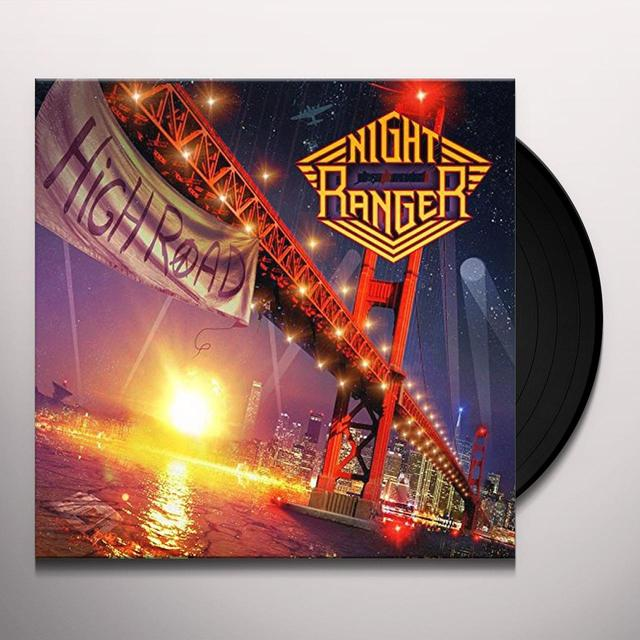 Night Ranger HIGH ROAD Vinyl Record
