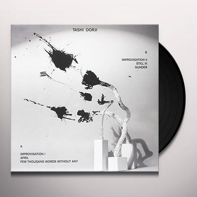TASHI DORJI Vinyl Record