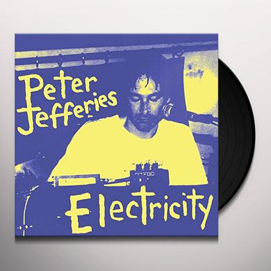 Peter Jefferies ELECTRICITY Vinyl Record