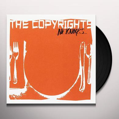 The Copyrights NO KNOCKS Vinyl Record