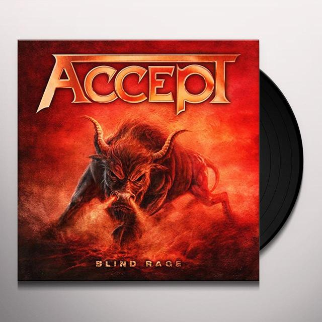 Accept BLIND RAGE Vinyl Record - UK Release
