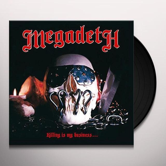 Megadeth KILLING IS MY BUSINESS Vinyl Record - UK Release
