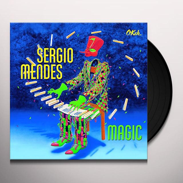 Sérgio Mendes MAGIC Vinyl Record - Holland Import