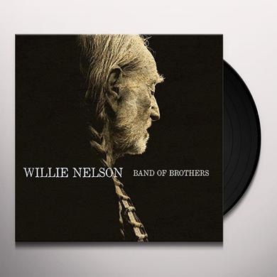 Willie Nelson BAND OF BROTHERS Vinyl Record - Holland Import
