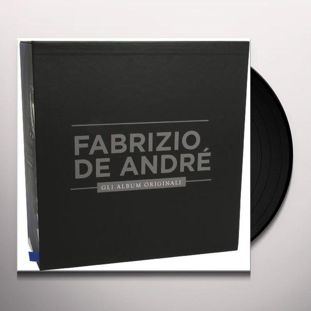 De Andre' Fabrizio GLI ALBUM ORIGINALI Vinyl Record - Italy Import