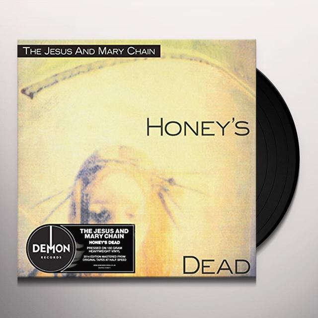The Jesus and Mary Chain HONEY'S DEAD Vinyl Record - UK Release