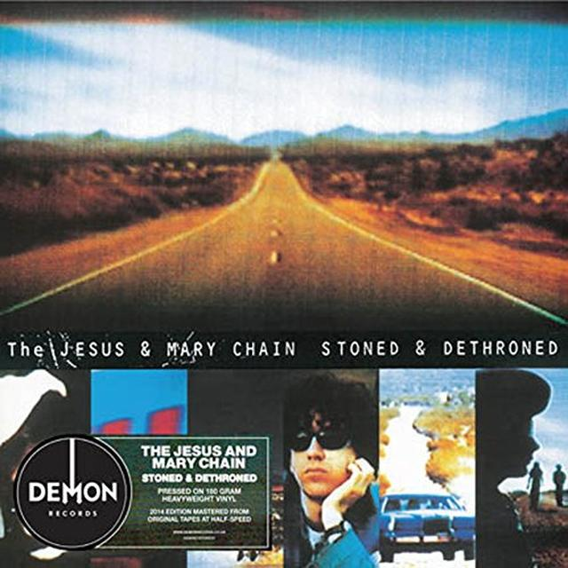 The Jesus and Mary Chain STONED & DETHRONED Vinyl Record - UK Import