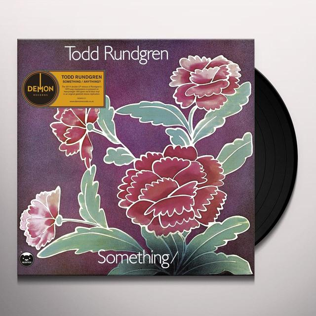 Todd Rundgren SOMETHING ANYTHING? Vinyl Record - UK Import