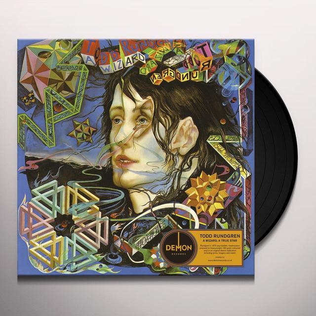 Todd Rundgren WIZARD A TRUE STAR Vinyl Record - UK Release