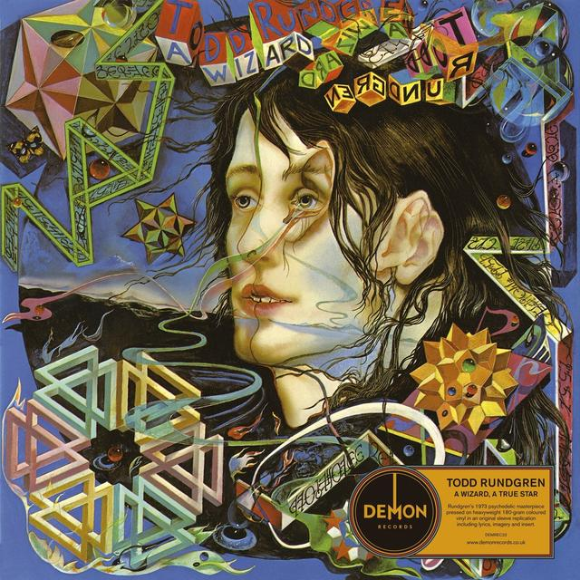 Todd Rundgren WIZARD A TRUE STAR Vinyl Record - UK Import