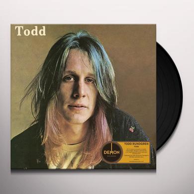 Todd Rundgren TODD Vinyl Record - UK Import