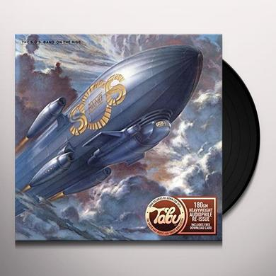 Sos Band ON THE RISE Vinyl Record - UK Import
