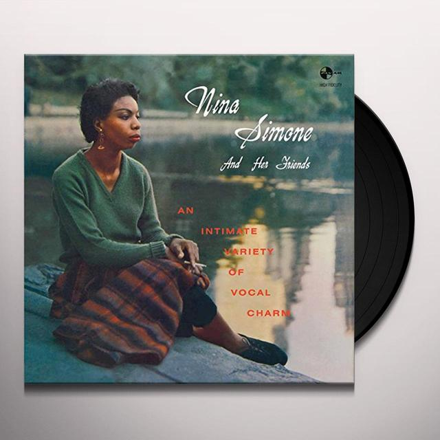 NINA SIMONE & HER FRIENDS Vinyl Record - Spain Import