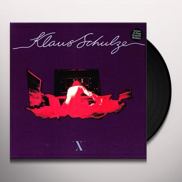 Schulze Klaus X Vinyl Record - Limited Edition