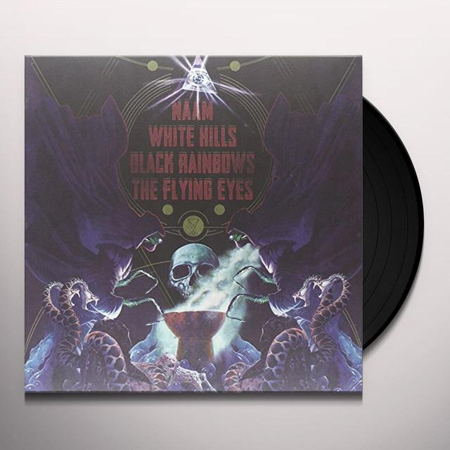 Naam/White Hills/Black Rainbows/The Flying Eyes 4 WAY SPLIT Vinyl Record - Italy Import