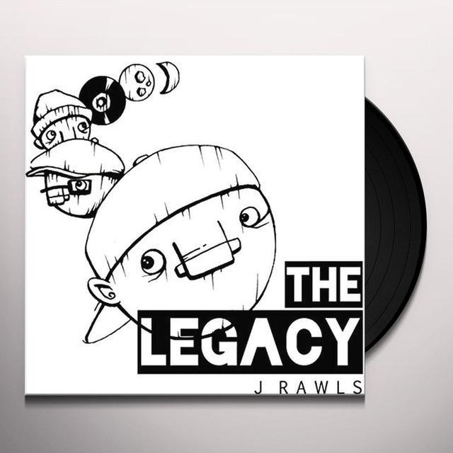 J Rawls LEGACY Vinyl Record