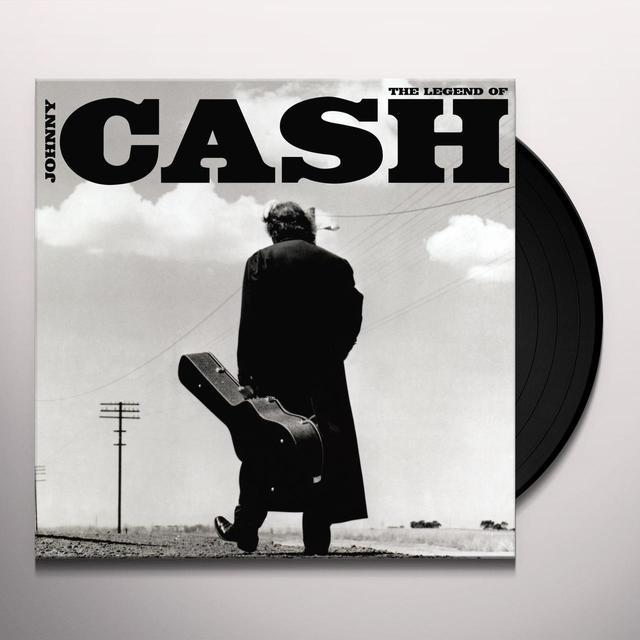 LEGEND OF JOHNNY CASH Vinyl Record
