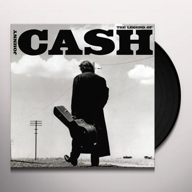 LEGEND OF JOHNNY CASH Vinyl Record