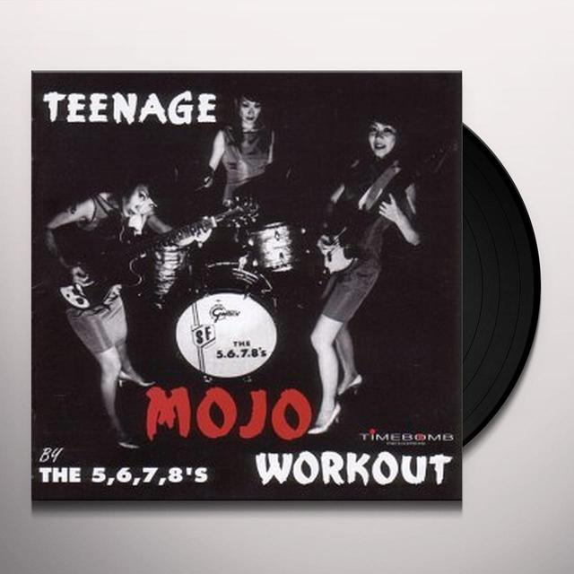 The 5.6.7.8's TEENAGE MOJO WORKOUT Vinyl Record