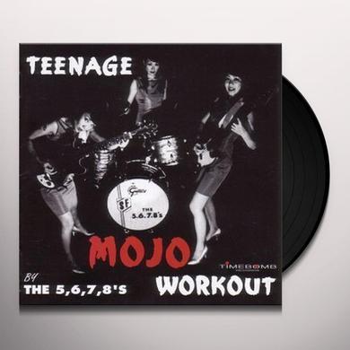 The 5.6.7.8's TEENAGE MOJO WORKOUT Vinyl Record