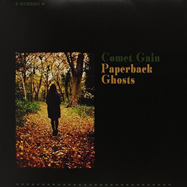 Comet Gain PAPERBACK GHOSTS Vinyl Record