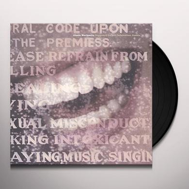 Alanis Morissette SUPPOSED FORMER INFATUATION JUNKIE Vinyl Record - Holland Import