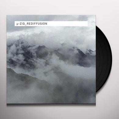 Mu-Ziq REDIFFUSION Vinyl Record