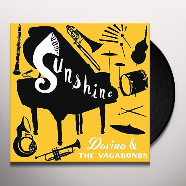 Davina & Vagabonds SUNSHINE Vinyl Record