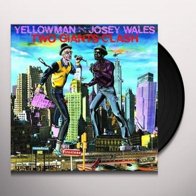 Yellowman & Josey Wales TWO GIANTS CLASH Vinyl Record