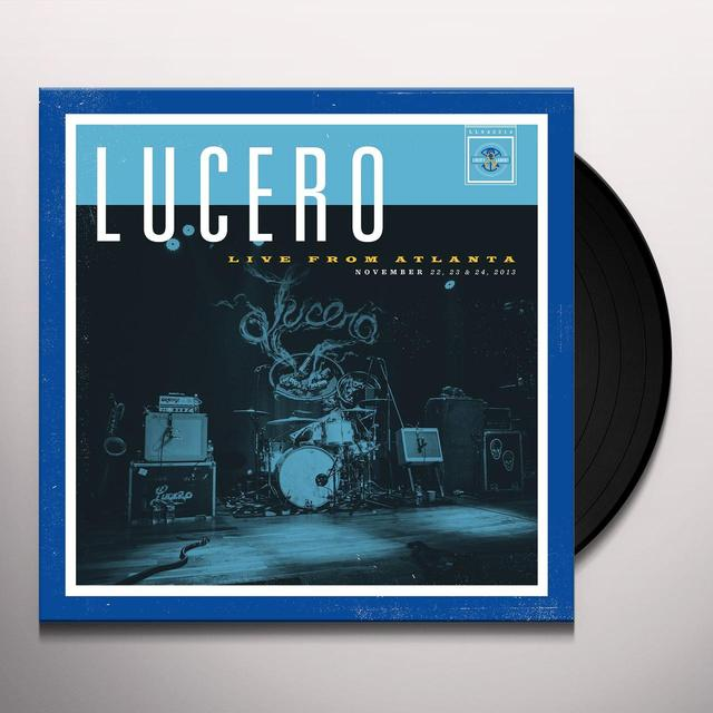 Lucero LIVE FROM ATLANTA Vinyl Record
