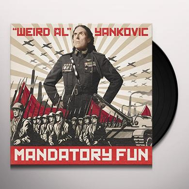 Weird Al Yankovic MANDATORY FUN Vinyl Record