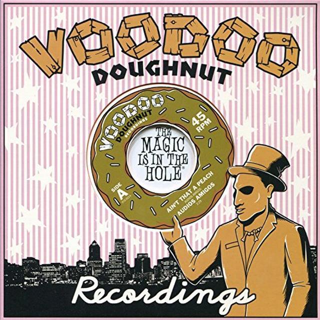 Audios Amigos AIN'T THAT A PEACH / RIP CITY MEDLEY Vinyl Record