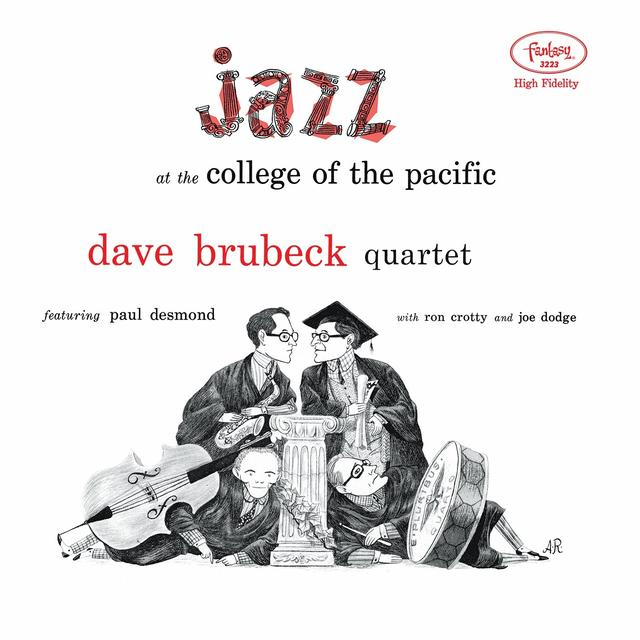 Dave Brubeck JAZZ AT THE COLLEGE OF THE PACIFIC Vinyl Record