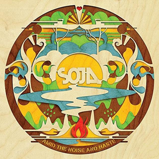 Soja AMID THE NOISE & HASTE Vinyl Record