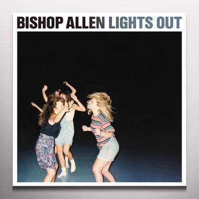 Bishop Allen LIGHTS OUT Vinyl Record - Colored Vinyl