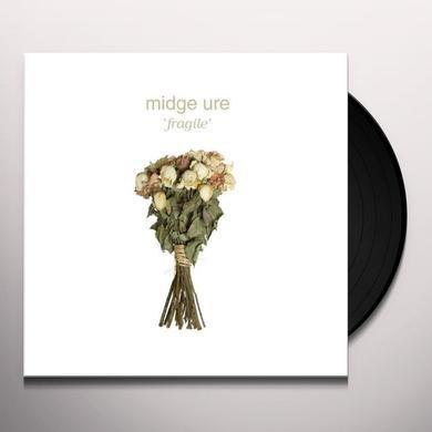 Midge Ure FRAGILE Vinyl Record