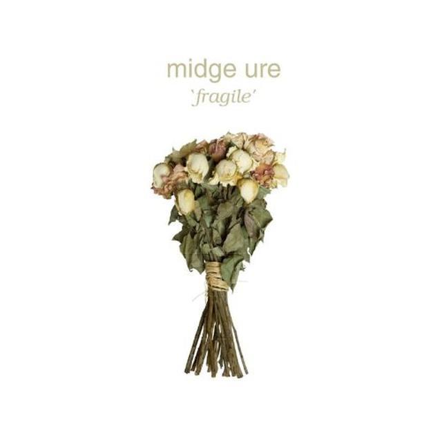 Midge Ure FRAGILE Vinyl Record - 180 Gram Pressing