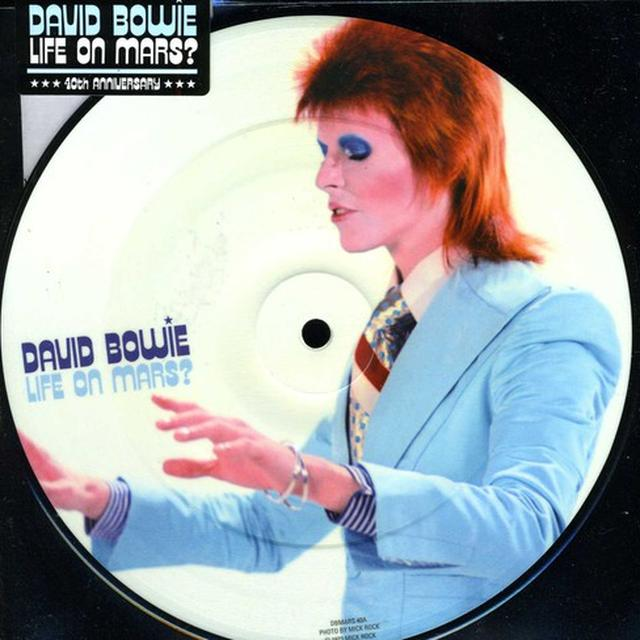 David Bowie LIFE ON MARS: 40TH ANNIVERSARY Vinyl Record - Canada Release