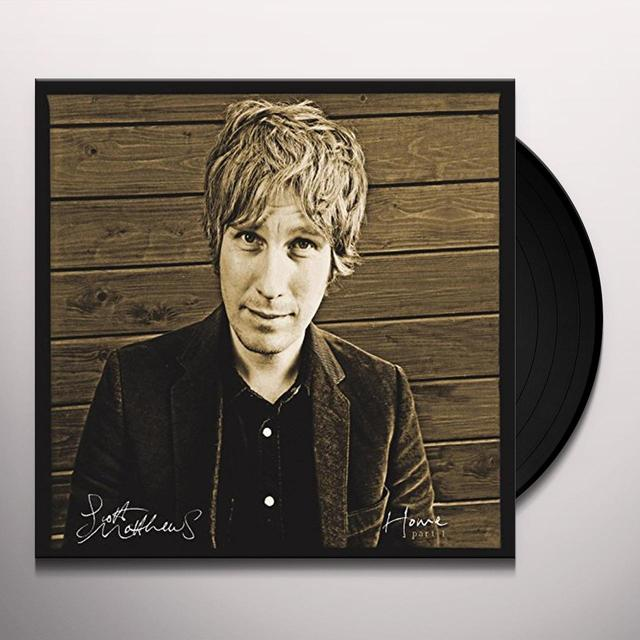Scott Matthews HOME PART 1 Vinyl Record - UK Release