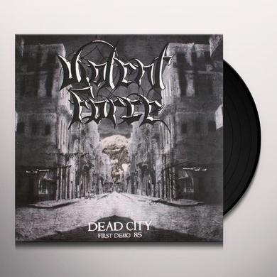 Violent Force DEAD CITY-FIRST DEMO '85 Vinyl Record - UK Import