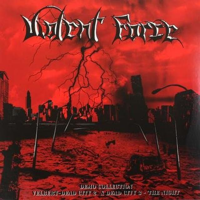Violent Force DEMO COLLECTION-VELBERT DEAD CITY II & DEAD CITY I Vinyl Record