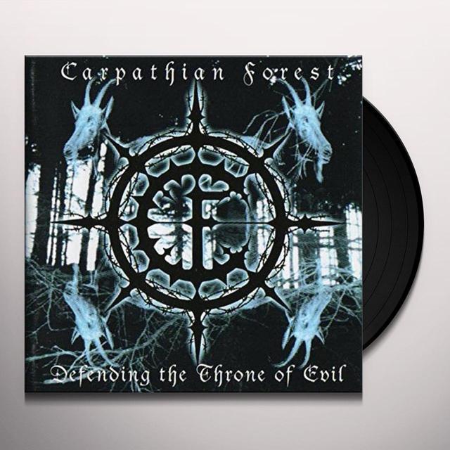Carpathian Forest DEFENDING THE THRONE OF EVIL (UK) (Vinyl)