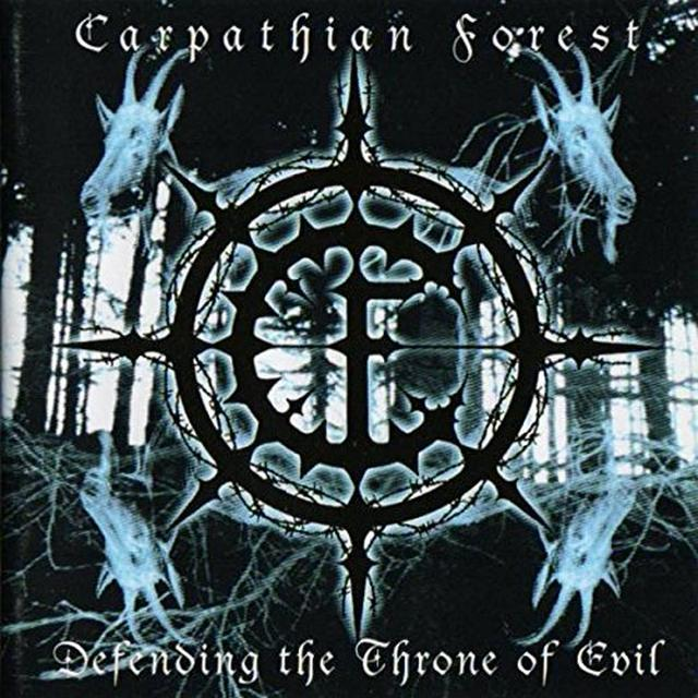 Carpathian Forest DEFENDING THE THRONE OF EVIL (UK) (Vinyl)
