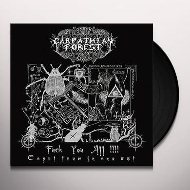 Carpathian Forest FUCK YOU ALL (UK) (Vinyl)