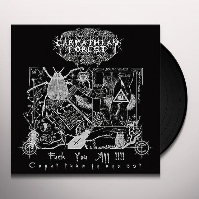 Carpathian Forest FUCK YOU ALL (UK) (Vinyl)