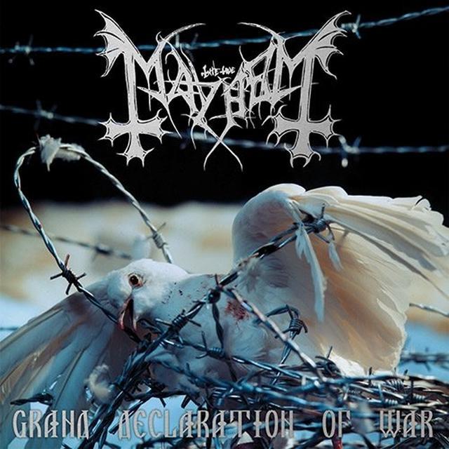 Mayhem GRAND DECLARATION OF WAR Vinyl Record - UK Import