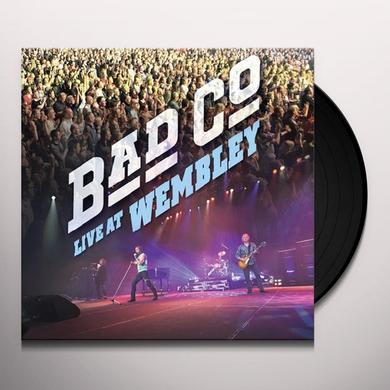 Bad Company LIVE AT WEMBLEY Vinyl Record - UK Import