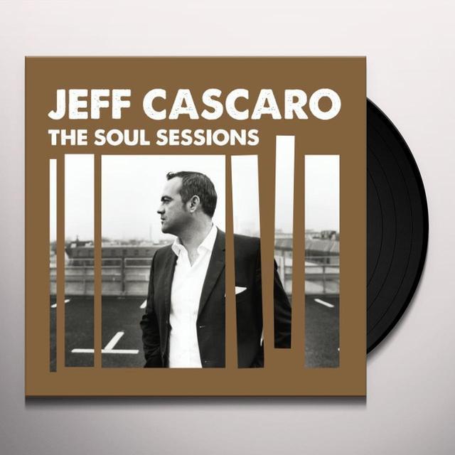 Jeff Cascaro SOUL SESSIONS Vinyl Record - UK Import