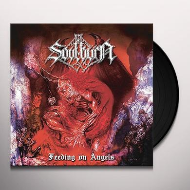 Soulburn FEEDING ON ANGELS Vinyl Record - UK Import