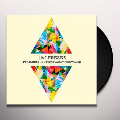 Pyramidal LIVE FREAKS Vinyl Record - UK Import